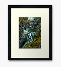 Flowing Through Time Framed Print