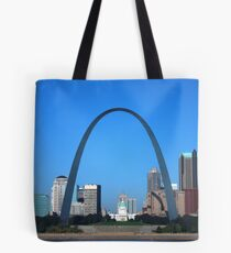 St. Louis Missouri on a bright clear day!  Tote Bag