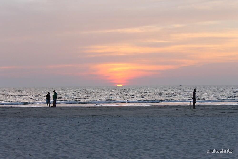 Sunset @ GOA by prakashritz