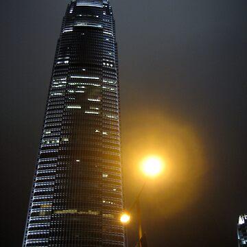 Night in Hong Kong by readora