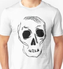 barb wire skull Unisex T-Shirt