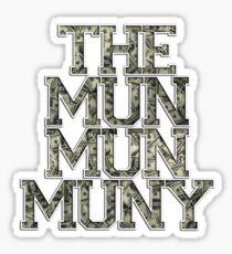 Muny T-Shirt Sticker