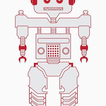 Robot kid by Crispian