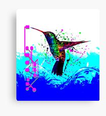 hummingbird Program Canvas Print