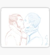 Logan and Kurt Sticker