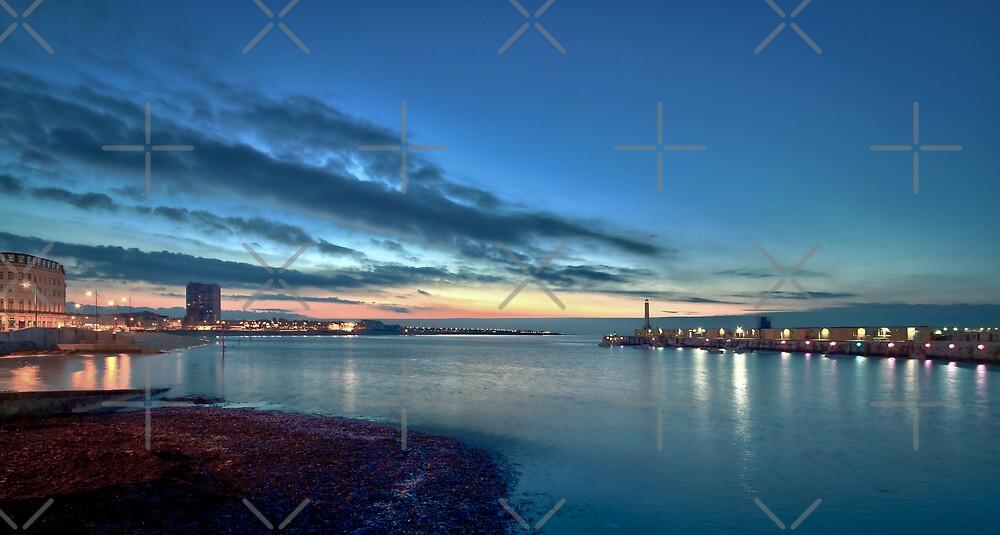 Margate Harbour by Geoff Carpenter