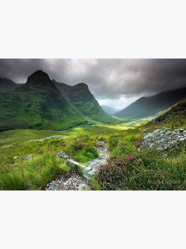 Scotland: Glencoe Valley Summer by AngelaBarnett