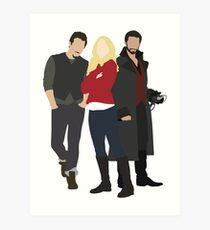 Neal, Emma, and Hook Art Print