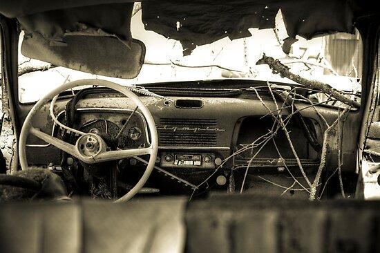 Old Car Interior Photographic Prints By Timothy Borkowski Redbubble