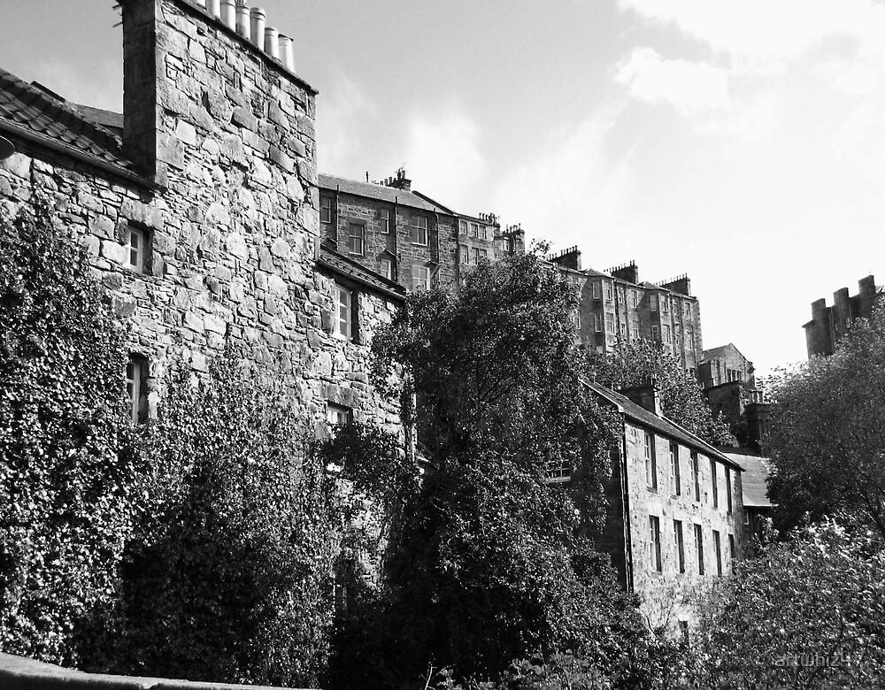 Edinburgh Elegy, Dean Village ~ For Oxley by artwhiz47