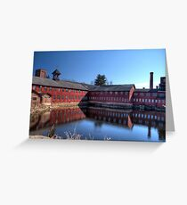 Old Collinsville Mill Greeting Card