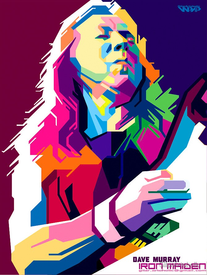 dave murray by GilarArtoholic