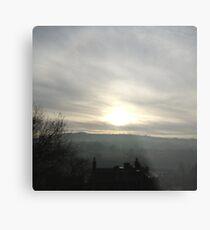 Derbyshire sunset Metal Print