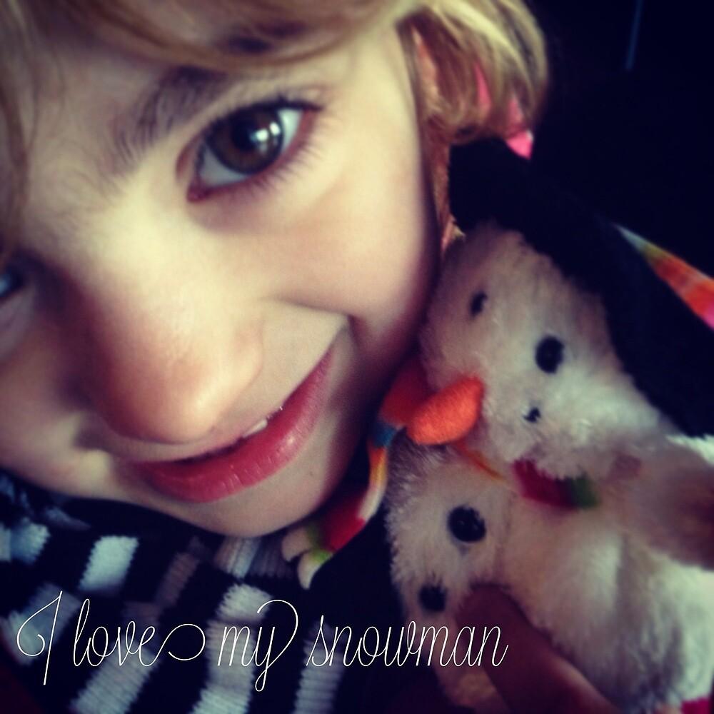I Love My Snowman by Robert Steadman