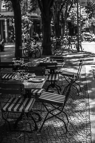 Street Cafe by MorganaPhoto