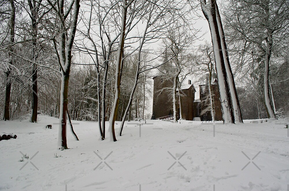 Castle Coch Snow by Dave Ward