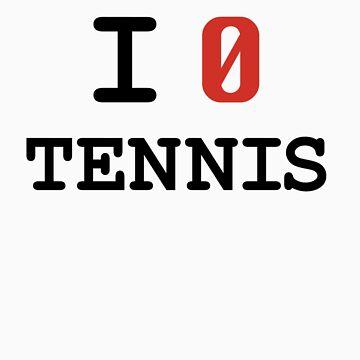 I Love Tennis by ctlart