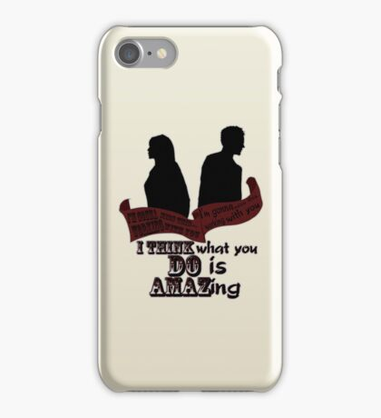 Working With You iPhone Case/Skin