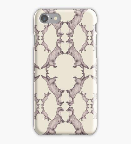 Dancing Weasels iPhone Case/Skin