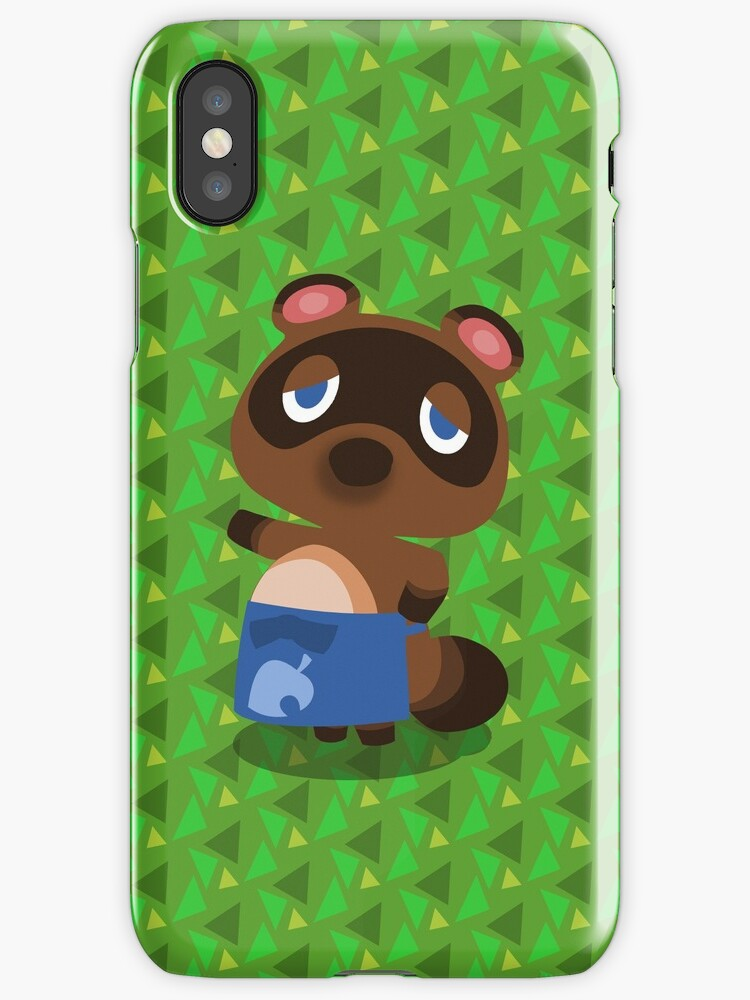 animal crossing for iphone quot tom nook animal crossing quot iphone cases amp covers by 7791