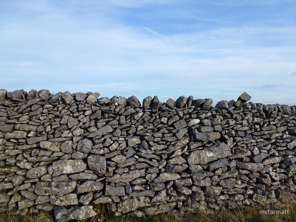 Dry Stone Wall - Middleton Moor by mstarmatt