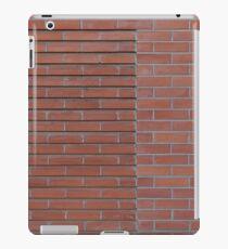 Red brick wall iPad Case/Skin