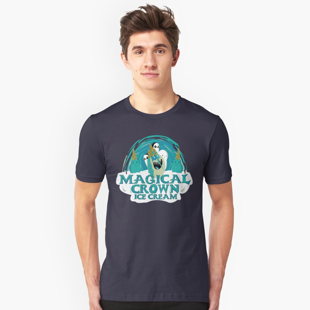 magical crown ice cream Unisex T-Shirt Front