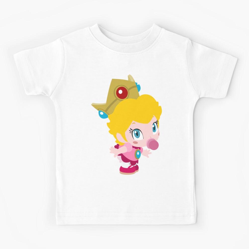 Baby Peach (Brillante) Camiseta para niños