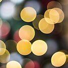 Christmas Tree Bokeh by Sharlene Rens
