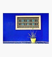 Bleu Majorelle Photographic Print
