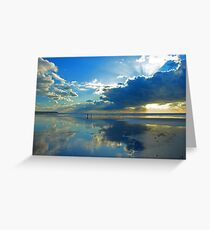 Freshwater West - Beautiful Space. Greeting Card