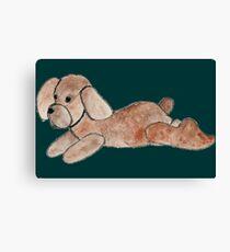 Dog-dog Canvas Print
