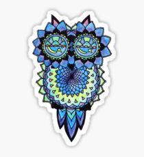 Zen Owl Sticker