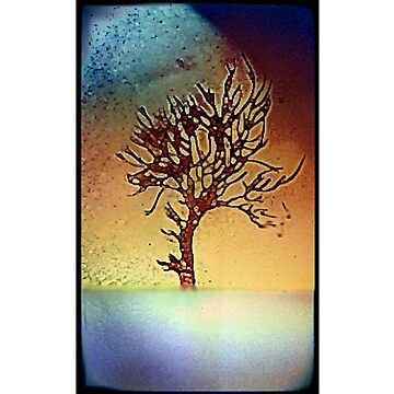 Abstract tree poster by babybadger