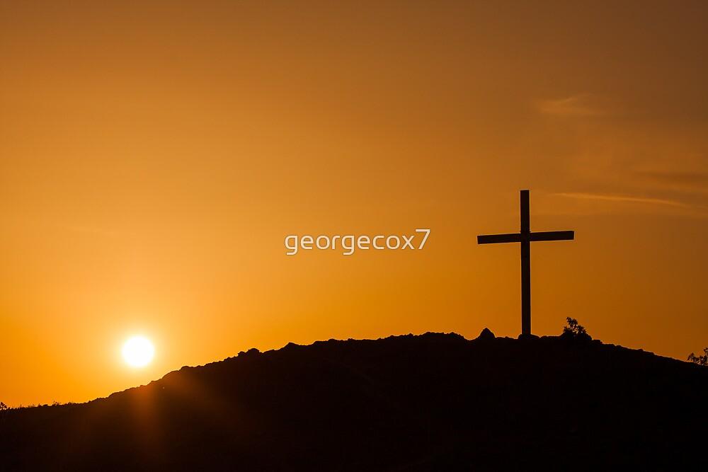 Cross @ Sunset by georgecox7