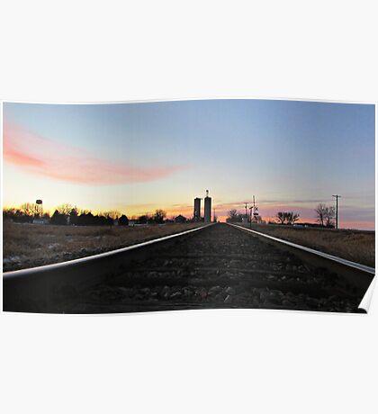 Prairie Rails Poster