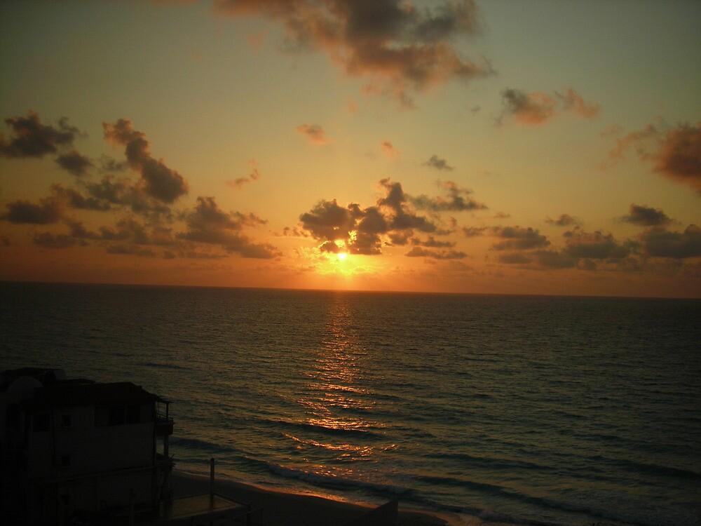 Sunrise in Cancun by Shane Hutton