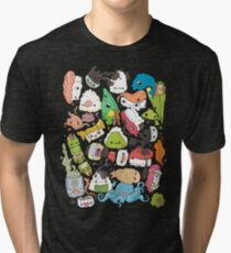 Sushi Bar: The point of Nori-turn Tri-blend T-Shirt