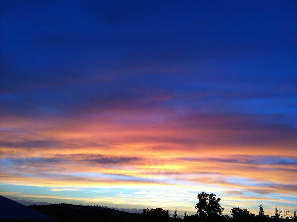 Sunset Easy by bidya