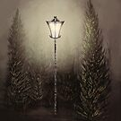 A Light in the Forest by shakusaurus