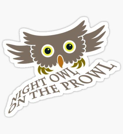 Owl on the Prowl VRS2 Sticker