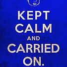 Kept Calm... Now What? by themonkeylab