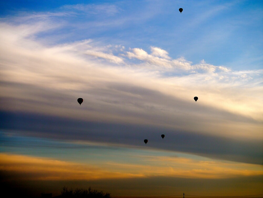 Hot air balloons, AZ by ADayToRemember
