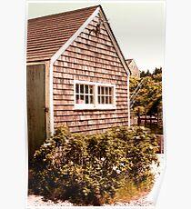 Martha's Vineyard Fishing Shack Massachusetts Poster