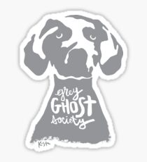 Grey Ghost Society : v2 Sticker