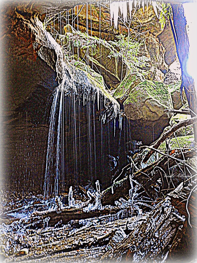 Ice, Water, Darkness and Light by TrendleEllwood