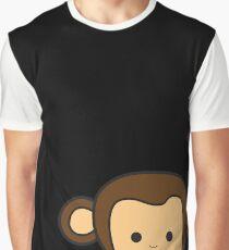 Happy Monkey Graphic T-Shirt