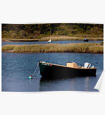 Tidal Pond Moorings Poster