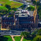 St Mary's Cathedral Sydney, Miniature by Todd Kluczniak