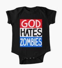 God Hates Zombies Kids Clothes